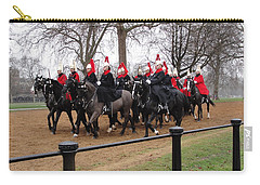 Carry-all Pouch featuring the photograph Queen's Guard by Tiffany Erdman
