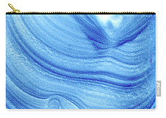 Query Blue 2 Carry-all Pouch by Jamie Lynn