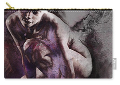 Quiescent With Texture Carry-all Pouch