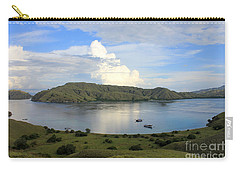 Carry-all Pouch featuring the photograph Quiet Bay by Sergey Lukashin