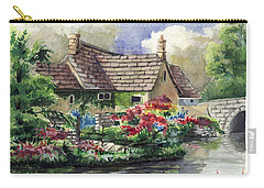 Quiet House Along The River Carry-all Pouch