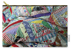 Quilt Of Many Colors Carry-all Pouch