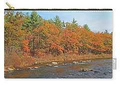 Quinapoxet River In Autumn Carry-all Pouch