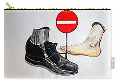 Carry-all Pouch featuring the painting Quo Vadis by Lazaro Hurtado
