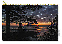 Quoddy Sunrise Carry-all Pouch by Marty Saccone