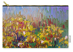 Rabbit Brush Abstracted Carry-all Pouch