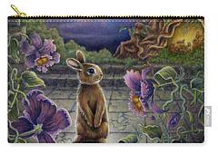 Rabbit Dreams Carry-all Pouch by Retta Stephenson