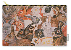 Rabbit Spread Carry-all Pouch by Ditz