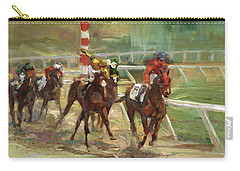 Race Horses Carry-all Pouch