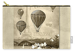 Racing In Sepia Carry-all Pouch