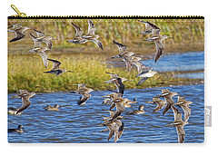 Carry-all Pouch featuring the photograph Racing Stripes by Gary Holmes