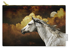 Racing The Moon Carry-all Pouch by Karen Slagle