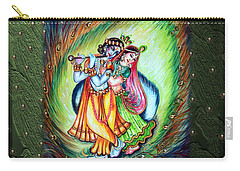 Radha Krishna Carry-all Pouch by Harsh Malik
