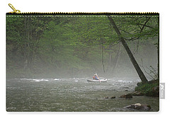 Rafting Misty River Carry-all Pouch
