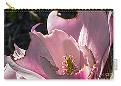 Carry-all Pouch featuring the photograph Ragged Magnolia by Kate Brown