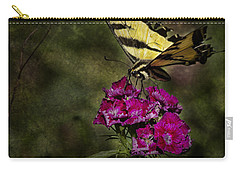 Carry-all Pouch featuring the photograph Ragged Wings by Belinda Greb