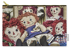 Raggedy Ann And Andy Carry-all Pouch