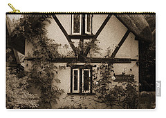 Rags Corner Cottage Nether Wallop Olde Sepia Carry-all Pouch