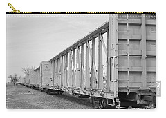 Rail Cars Carry-all Pouch