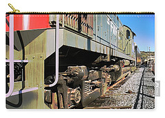 Carry-all Pouch featuring the photograph Rail Truck by Michael Gordon
