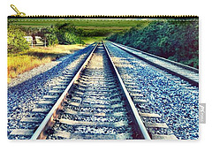 Railroad To Heaven Carry-all Pouch