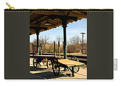 Railroad Wagons Carry-all Pouch