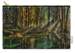 Rain Forest Sunbeams Carry-all Pouch by Mary Jo Allen