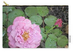 Rain Kissed Rose Carry-all Pouch