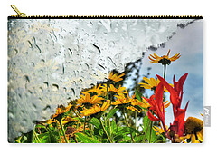 Rain Rain Go Away... Carry-all Pouch by Michael Frank Jr