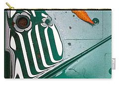 Carry-all Pouch featuring the photograph Rain Reflections by Bill Owen