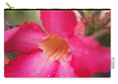 Carry-all Pouch featuring the photograph Rain Season by Miguel Winterpacht