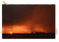 Rain Squall Sunrise Carry-all Pouch