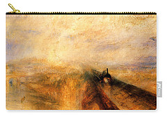 Rain Steam And Speed.  Carry-all Pouch by J M W Turner