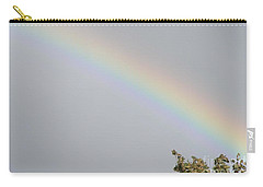 Rainbow After The Rain Carry-all Pouch by Barbara Griffin