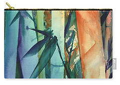 Rainbow Bamboo 2 Carry-all Pouch by Marionette Taboniar
