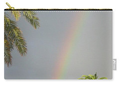 Carry-all Pouch featuring the photograph Rainbow Bermuda by Photographic Arts And Design Studio
