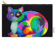 Calico Cat Carry-all Pouches
