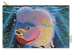 Rainbow Devil Fish Carry-all Pouch