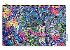 Rainbow Dragons Carry-all Pouch