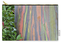 Rainbow Eucalyptus Carry-all Pouch by Bryan Keil