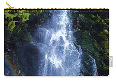 Carry-all Pouch featuring the photograph Rainbow Falls by John Williams