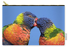 Rainbow Lorikeets Carry-all Pouch