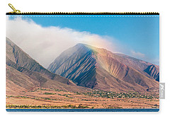 Rainbow Over Maui Mountains   Carry-all Pouch