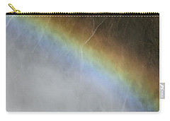 Rainbow Over The Falls Carry-all Pouch by Laurel Powell