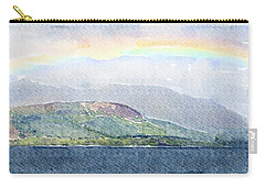 Rainbow Over The Isle Of Arran Carry-all Pouch
