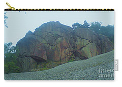 Carry-all Pouch featuring the photograph Rainbow Rock by John Williams