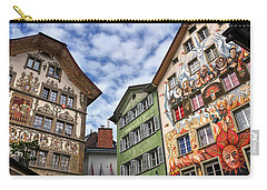 Rainbow Corner  Lucerne Carry-all Pouch by Carol Japp