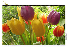 Rainbow Tulips  Carry-all Pouch