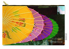 Carry-all Pouch featuring the photograph New Orleans Rainbowellas by Michael Hoard