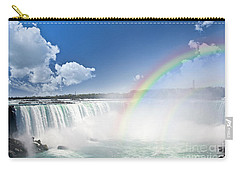 Rainbows At Niagara Falls Carry-all Pouch